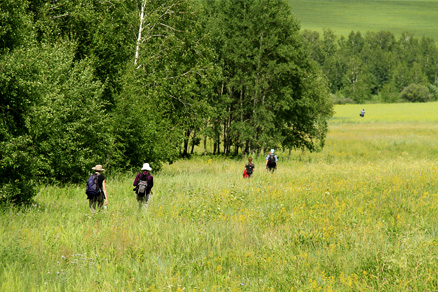 Countryside walks, Beijing Hikers Hailar, July014, 2011